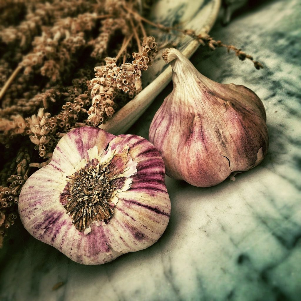 garlic, spice, ingredient