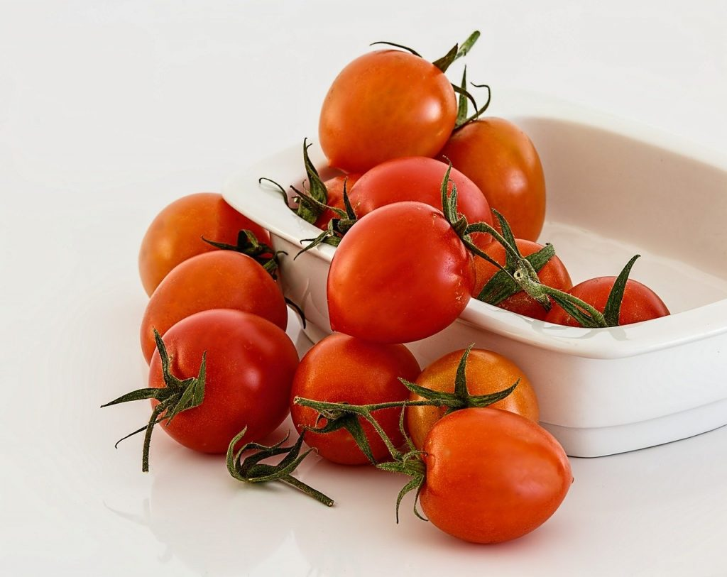 tomato, red, fresh